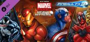 Pinball FX3: Marvel Pinball Heavy Hitters Windows Front Cover
