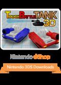 Touch Battle Tank: 3D Nintendo 3DS Front Cover