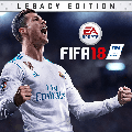 FIFA 18: Legacy Edition PlayStation 3 Front Cover