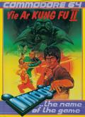 Yie Ar Kung-Fu 2: The Emperor Yie-Gah Commodore 64 Front Cover