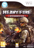 Heavy Fire: Afghanistan Wii Front Cover
