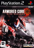 Armored Core: Nine Breaker PlayStation 2 Front Cover