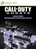 Call of Duty: Ghosts - Unicorn Personalization Pack Xbox 360 Front Cover