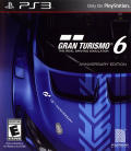 Gran Turismo 6 (Anniversary Edition) PlayStation 3 Front Cover