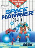 Space Harrier 3-D SEGA Master System Front Cover