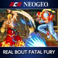 Real Bout Fatal Fury PlayStation 4 Front Cover