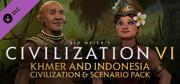 Sid Meier's Civilization VI: Khmer and Indonesia - Civilization & Scenario Pack Windows Front Cover