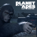 Planet of the Apes: Last Frontier PlayStation 4 Front Cover