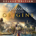 Assassin's Creed: Origins (Deluxe Edition) PlayStation 4 Front Cover