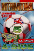 International 5-A-Side Commodore 64 Front Cover