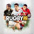 Rugby 18 (Day One Edition) PlayStation 4 Front Cover