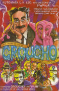 My Name is Uncle Groucho You Win a Fat Cigar ZX Spectrum Front Cover