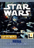 Star Wars Game Gear Front Cover