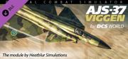 DCS: AJS-37 Viggen Windows Front Cover
