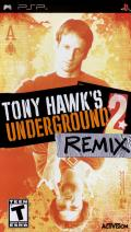 Tony Hawk's Underground 2: Remix PSP Front Cover