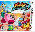 Kirby Battle Royale Nintendo 3DS Front Cover