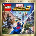 LEGO Marvel Super Heroes 2 (Deluxe Edition) PlayStation 4 Front Cover