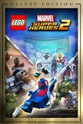 LEGO Marvel Super Heroes 2 (Deluxe Edition) Xbox One Front Cover