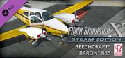 Microsoft Flight Simulator X: Steam Edition - Beechcraft Baron B55 Windows Front Cover