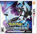 Pokémon Ultra Moon Nintendo 3DS Front Cover