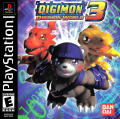Digimon World 3 PlayStation Front Cover