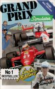 Grand Prix Simulator Atari 8-bit Front Cover