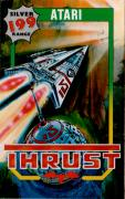 Thrust Atari 8-bit Front Cover