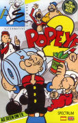 Popeye 2 ZX Spectrum Front Cover