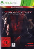 Metal Gear Solid V: The Phantom Pain (Day One Edition) Xbox 360 Front Cover