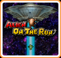 Alien on the Run Nintendo 3DS Front Cover