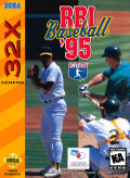 RBI Baseball '95 SEGA 32X Front Cover