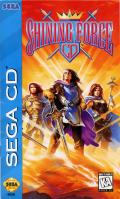 Shining Force CD SEGA CD Front Cover