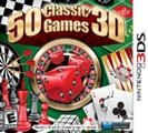 50 Classic Games 3D Nintendo 3DS Front Cover