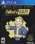 Fallout 4: Game of the Year Edition PlayStation 4 Front Cover