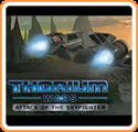 Thorium Wars: Attack of the Skyfighter Nintendo 3DS Front Cover