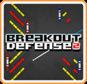 Breakout Defense 2 New Nintendo 3DS Front Cover
