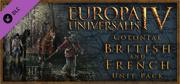Europa Universalis IV: Colonial British and French Unit Pack Linux Front Cover