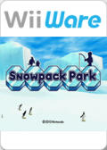 Snowpack Park Wii Front Cover