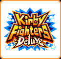 Kirby Fighters Deluxe Nintendo 3DS Front Cover