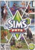 The Sims 3: Pets Macintosh Front Cover
