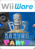 Big Kahuna Party Wii Front Cover