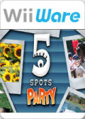 5 Spots Party Wii Front Cover