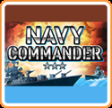 Navy Commander Nintendo 3DS Front Cover