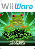 Frogger: Hyper Arcade Edition Wii Front Cover