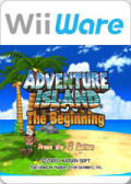 Adventure Island: The Beginning Wii Front Cover