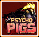 Psycho Pigs Nintendo 3DS Front Cover