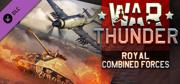War Thunder: Royal Combined Forces Linux Front Cover
