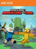 Minecraft: Xbox One Edition - Adventure Time Mash-up Xbox 360 Front Cover