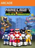 Minecraft: Xbox One Edition - Power Rangers Skin Pack Xbox 360 Front Cover