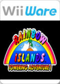 Rainbow Islands: Towering Adventure! Wii Front Cover